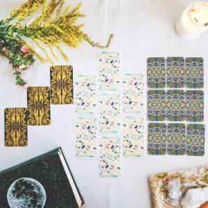 Tarot online: Rozkład roczny